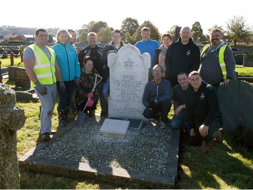 Change Step tidy over 1,000 War Graves