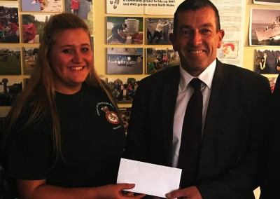 Determined cadet Faye makes strides to support Change Step
