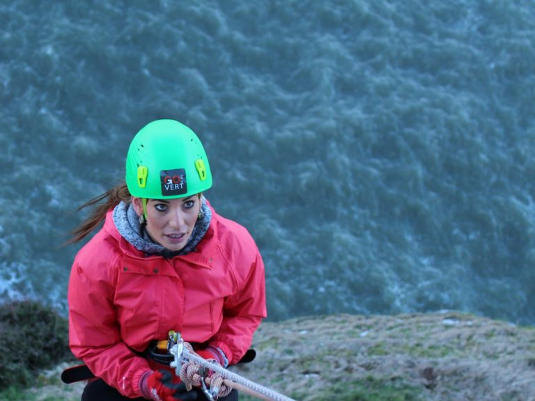 Great Orme abseilers raise funds to support Change Step