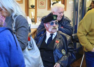 Cardiff care home honours the fallen with Change Step